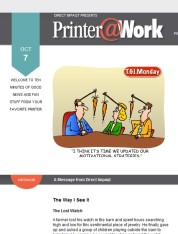 Printer@Work: 10 Tips for Safe Downloads, Be Your Customer's Resource