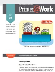 Printer@Work: 7 Social Marketing Tips, Save Voicemails Forever!